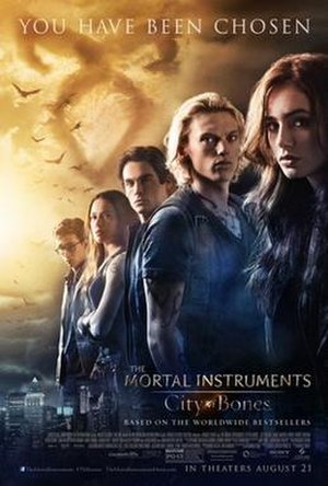 The Mortal Instruments: City of Bones - Theatrical release poster