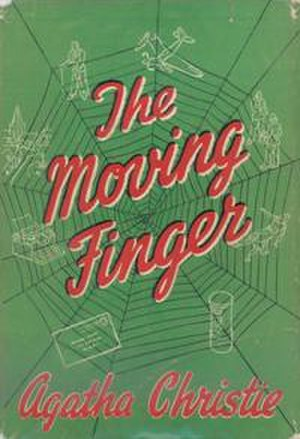 The Moving Finger - Dustjacket illustration of the UK first edition