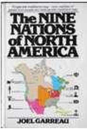 The Nine Nations of North America - Cover of the first edition