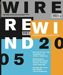 Rewind (<i>The Wire</i>) year in review magazine issue in Britain