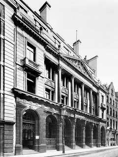 former building which was located at 24–28 St Mary Axe in London