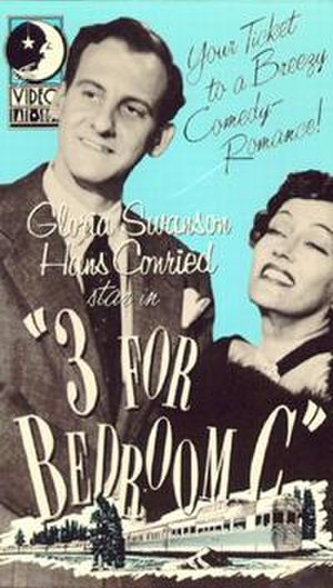 "Three for Bedroom ""C"" - VHS cover"