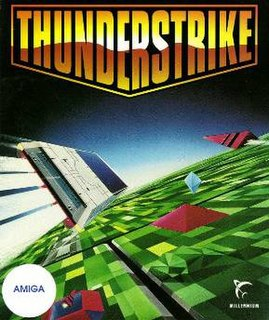 <i>Thunderstrike</i> (video game) 1990 video game
