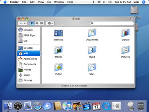 Screenshot Of Mac Os X   Tiger