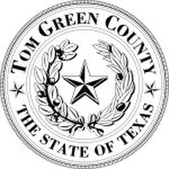 Tom Green County, Texas - Image: Tom Green County tx seal