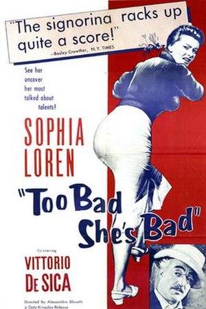 Too Bad She's Bad - Image: Too Bad She's Bad