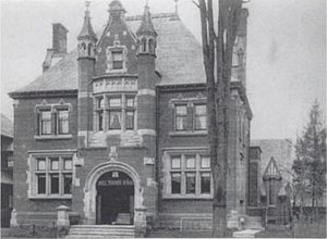 Tyndale University College and Seminary - Toronto Bible Training School 1898 (110 College Street, Toronto; 1898)