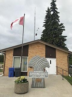 Springside, Saskatchewan Town in Saskatchewan, Canada