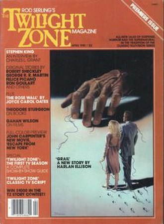 Twilight Zone literature - First issue of The Twilight Zone Magazine, April 1981