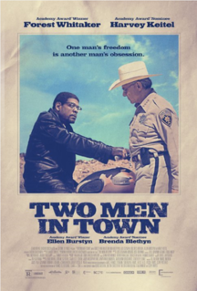 <i>Two Men in Town</i> (2014 film) 2014 French film directed by Rachid Bouchareb