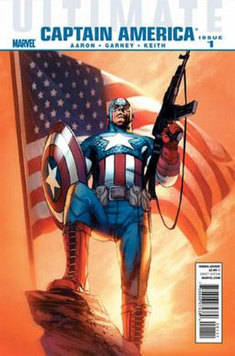 Captain America (Ultimate Marvel character) - Image: Uccap 01