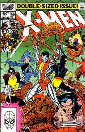 Brood (comics) - Image: Uncanny X Men 166