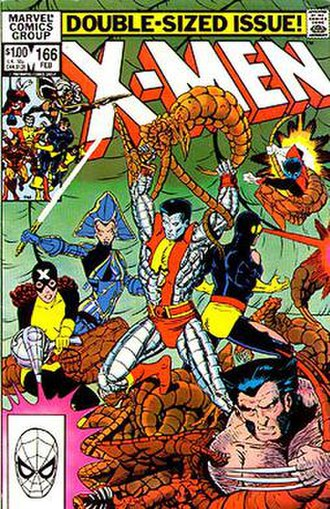 Brood (comics) - Image: Uncanny X Men 166