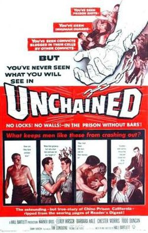 Unchained (film) - Image: Unchained (film poster)