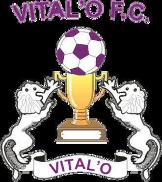 Vital'O FC - Image: Vital'O FC logo