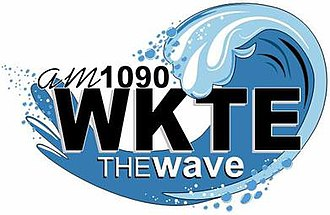 WKTE - Image: WKTE am 1090The Wave logo