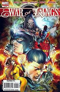 <i>War of Kings</i> 2009 comic book storyline by Marvel Comics