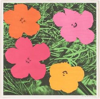 Leo Castelli - Castelli Gallery's first Warhol exhibition, Flowers, November, 1964