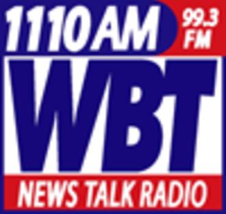 WBT (radio station) - Image: Wbtlogo