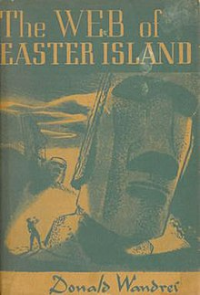 Image result for Donald Wandrei: The Web of Easter Island.
