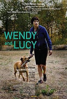 <i>Wendy and Lucy</i> 2008 film by Kelly Reichardt