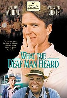 <i>What the Deaf Man Heard</i> 1st episode of the forty-seventh season of Hallmark Hall of Fame