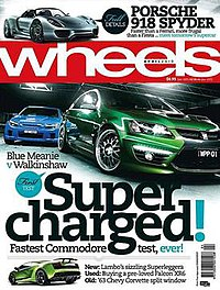 Wheels (magazine) - Wikipedia, the free encyclopedia