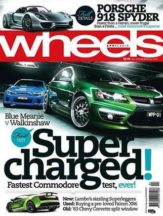 Wheels (magazine) - Cover of April 2010 issue