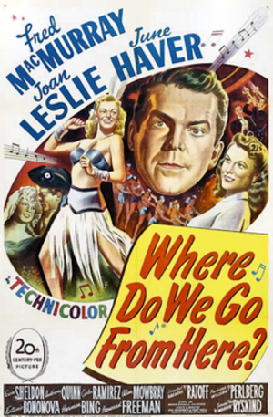 Where Do We Go from Here? (1945 film) - 1945 Theatrical Poster