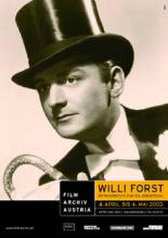 Willi Forst - Image: Willi Forst