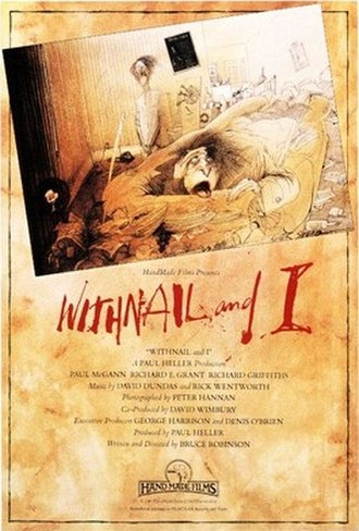 Withnail and I - Original UK release poster Art by Ralph Steadman