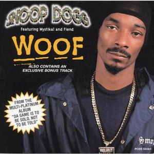 Woof (song) - Image: Woof (Snoop Dogg single cover art)