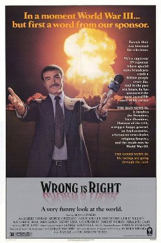 Wrong Is Right - original movie poster