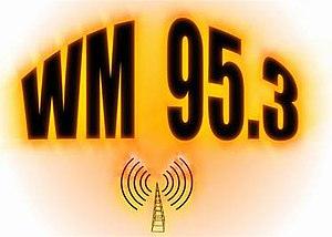 XHWM-FM - Image: XHWM WM95.3 logo