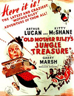 <i>Old Mother Rileys Jungle Treasure</i> 1951 film by Maclean Rogers