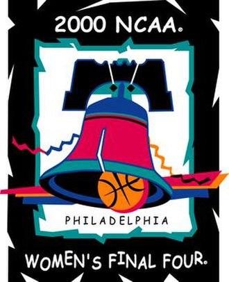 2000 NCAA Division I Women's Basketball Tournament - Image: 2000Womens Final Four Logo