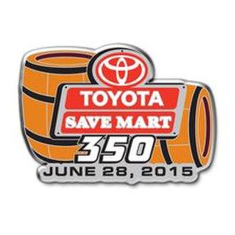 2015 Toyota/Save Mart 350 - Image: 2015 Toyota Save Mart 350 logo