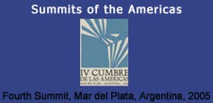 4th Summit of the Americas - 4th Summit of the Americas logo