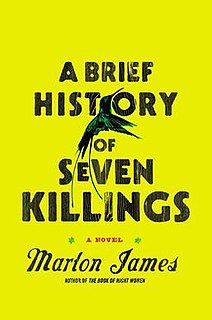 <i>A Brief History of Seven Killings</i> novel by Marlon James