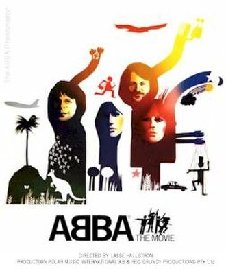ABBA: The Movie - Theatrical release poster