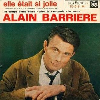 Elle était si jolie - Image: Alain Barrière Elleétaitsijolie