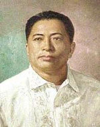 Philippine presidential election and referendum, 1981 - Image: Alejo Santos