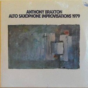 Alto Saxophone Improvisations 1979 - Image: Alto Saxophone Improvisations 1979
