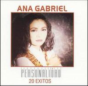 Personalidad: 20 Éxitos - Image: Ana Gabriel Personalidad