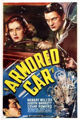 Armored Car (film) - Theatrical release poster