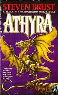 <i>Athyra</i> 1993 novel in the Vlad Taltos series by Steven Brust