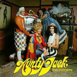 Aunty Jack Sings Wollongong - Original 1974 cover