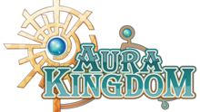 The logo for Aura Kingdom.