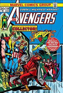 Collector (character) Fictional character appearing in American comic books published by Marvel Comics
