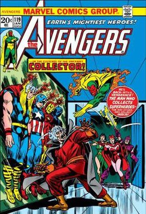 Collector (comics) - Image: Avengers 119